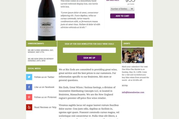 BinEnds Wines